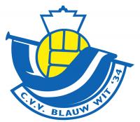 Clublogo van Blauw Wit'34 JO13-2d